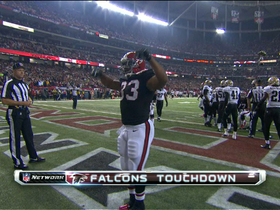 Video - Atlanta Falcons running back Michael Turner 3-yard TD