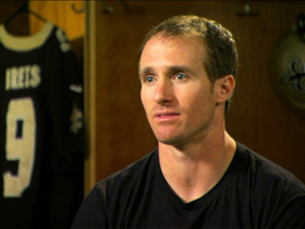 Watch: Saints' Brees looks to lead team, city once again