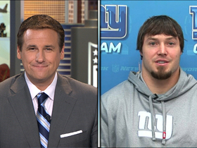 "Video - New York Giants LB Chase Blackburn joins ""NFL AM"""