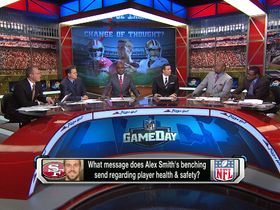 Video - Will Alex Smith's benching lead to less reporting of concussions?