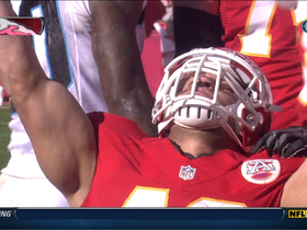 Video - Kansas City Chiefs RB Peyton Hillis 2-yard TD run