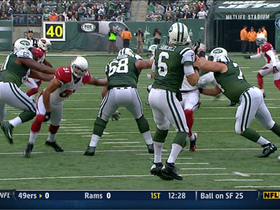 Video - New York Jets QB Mark Sanchez throws interception