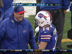Video - Buffalo Bills QB Ryan Fitzpatrick 1-yard touchdown plunge