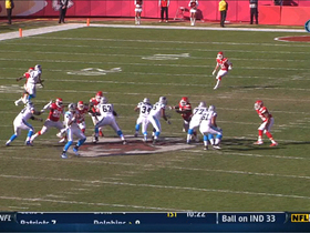 Newton's TD strike to Olsen