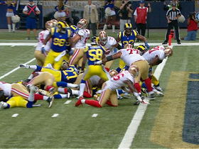 Video - San Francisco 49ers RB Frank Gore TD run