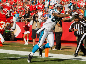 Video - Carolina Panthers QB Cam Newton finds Steve Smith for a TD