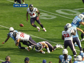 Video - Johnson fumbles