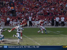 Video - Bowe's leaping grab