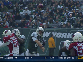 Video - A rough start for New York Jets QB Mark Sanchez