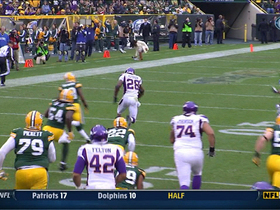 Video - Minnesota Vikings RB Adrian Peterson 48-yard gain