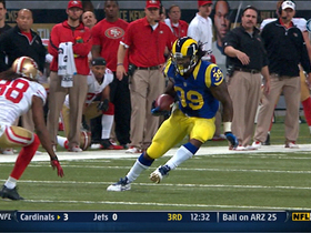Video - St. Louis Rams RB Steven Jackson 22-yard reception