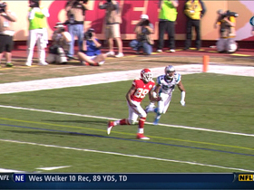 Video - Kansas City Chiefs WR Jon Baldwin 3-yard TD catch