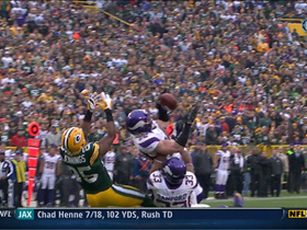 Video - Packers try to get fancy, Smith intercepts Rodgers