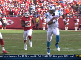 Video - Carolina Panthers QB Cam Newton 28-yard run