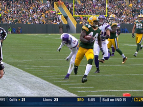 Video - Green Bay Packers RB James Starks 22-yard TD run