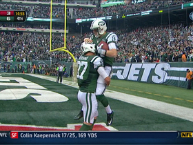 Video - New York Jets backup QB Greg McElroy 1-yard touchdown