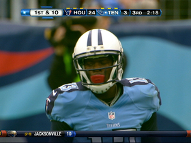 Video - Tennessee Titans WR Kendall Wright 38-yard catch
