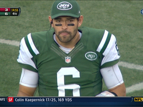 Video - Benched! Mark Sanchez sent to the sideline; Jets score
