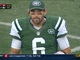 Watch: Benched! Mark Sanchez sent to the sideline; Jets score