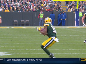 Video - Green Bay Packers WR Randall Cobb picks up 33 yards on 3rd down