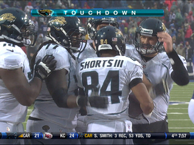Video - Jaguars WR Cecil Shorts scores after Bills muff punt