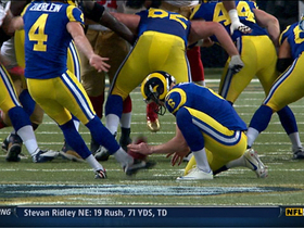 Video - St. Louis Rams kicker Greg Zuerlein game-tying field goal