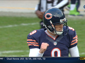 Video - Chicago Bears kicker Robbie Gould sends the game to overtime