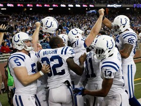 Video - WK 13 Can't-Miss Play: Luck to Avery game-winning TD