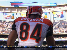 Video - Bengals TE Jermaine Gresham 19-yard TD grab