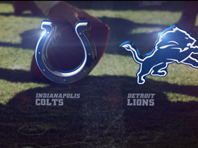 Video - Colts vs. Lions highlights