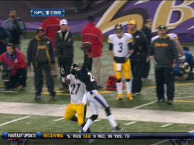 Video - Ravens spoil Steelers' trick play