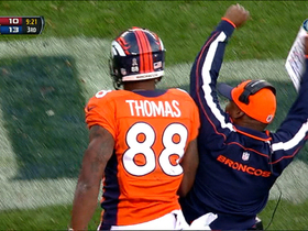 Video - Denver Broncos WR Demaryius Thomas 8-yard TD catch