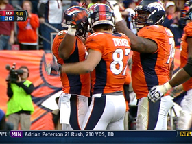 Video - Denver Broncos WR Demaryius Thomas scores second TD