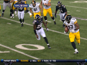 Video - Dwyer 16-yard touchdown run