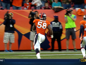 Video - Broncos linebacker Von Miller pick six
