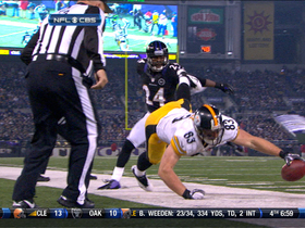 Video - Pittsburgh Steelers TE Heath Miller 7-yard touchdown catch
