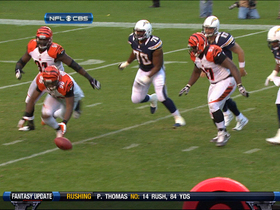 Video - Cincinnati Bengals defensive end Carlos Dunlap fumble recovery