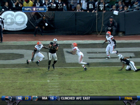 Video - Oakland Raiders TE Brandon Myers 17-yard touchdown catch