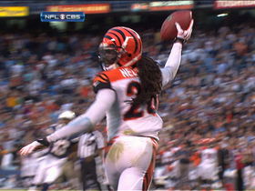 Video - Cincinnati Bengals safety Reggie Nelson's game-ending interception