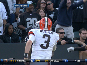 Video - Week 13: Brandon Weeden highlights