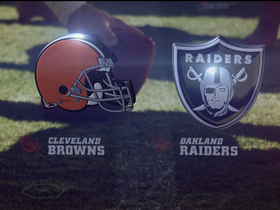 Video - Browns vs. Raiders highlights