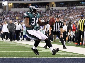 Video - Philadelphia Eagles RB Bryce Brown 10-yard TD run