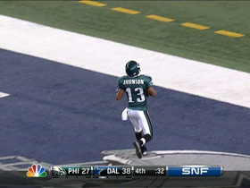 Video - Philadelphia Eagles' Damaris Johnson 98-yard punt-return TD