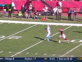 QB Newton to TE Olsen, 47-yd, pass, TD