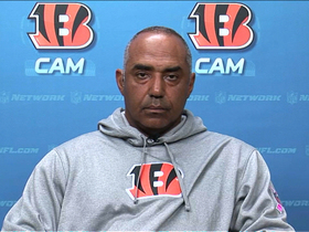 Video - Cincinnati Bengals head coach Marvin Lewis 1-on-1