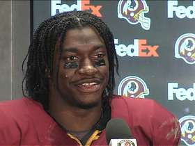 Video - Washington Redskins QB RG3: 'I couldn't be more proud of the guys'