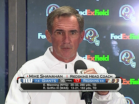 Video - Washington Redskins head coach Mike Shanahan: 'I'm really proud of our football team'