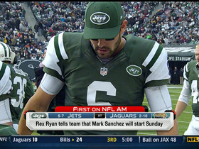 Video - Mark Sanchez named Jets' starting QB for Sunday vs. Jaguars