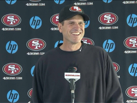 Video - 49ers' Jim Harbaugh discusses critically acclaimed acting career