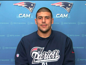 Video - New England Patriots TE Aaron Hernandez: 'I'm feeling better every week'